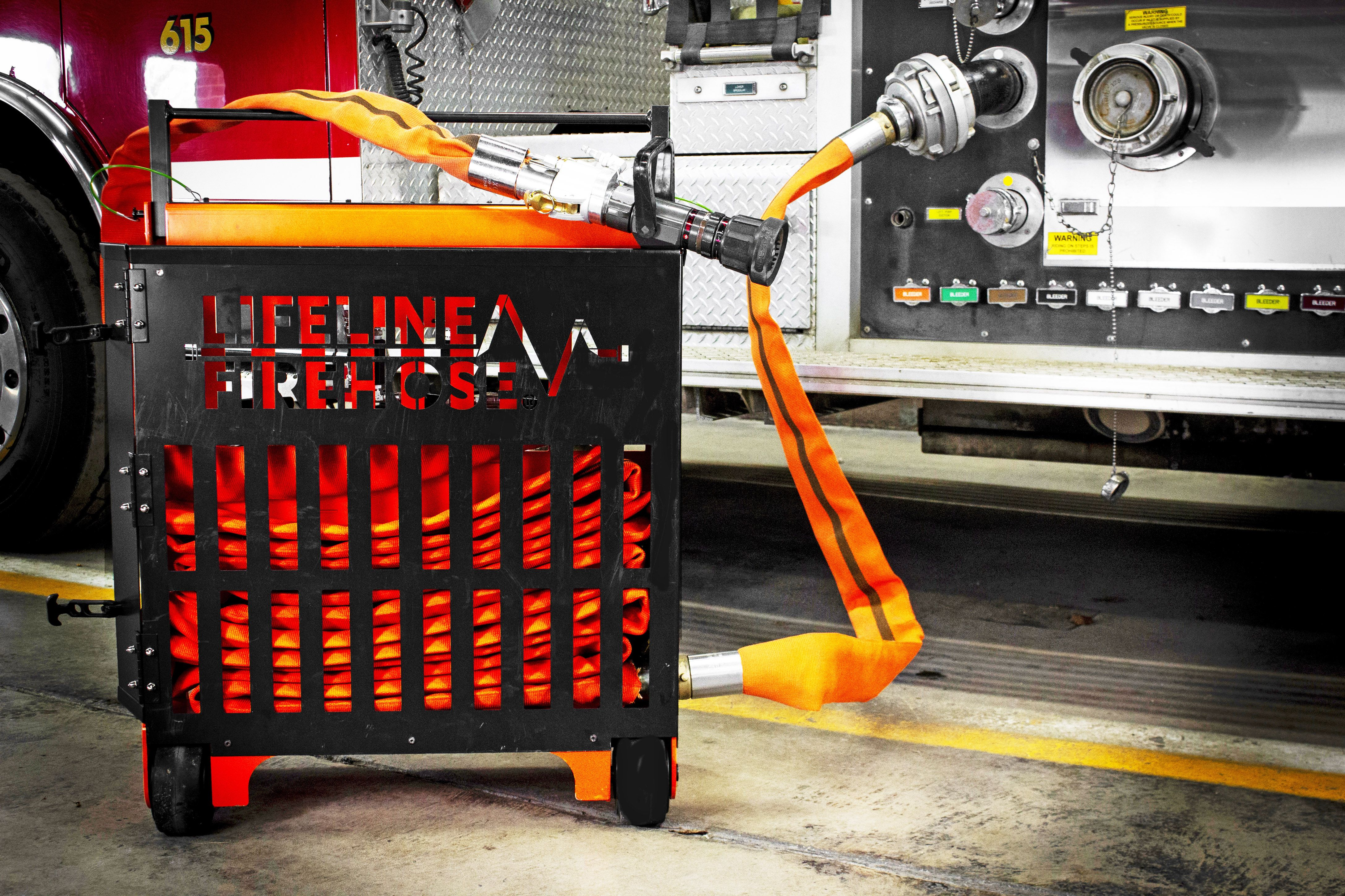 The Lifeline Firehose Could Revolutionize Firefighting