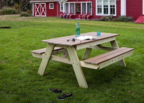 How To Build A Picnic Table Picnic Table Plans