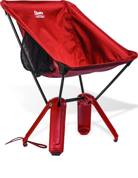 Red, Folding chair, Furniture, Table, Shade, Tent,