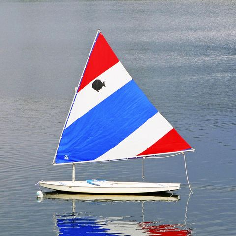 a7nbf9 reflexión del velero sunfish
