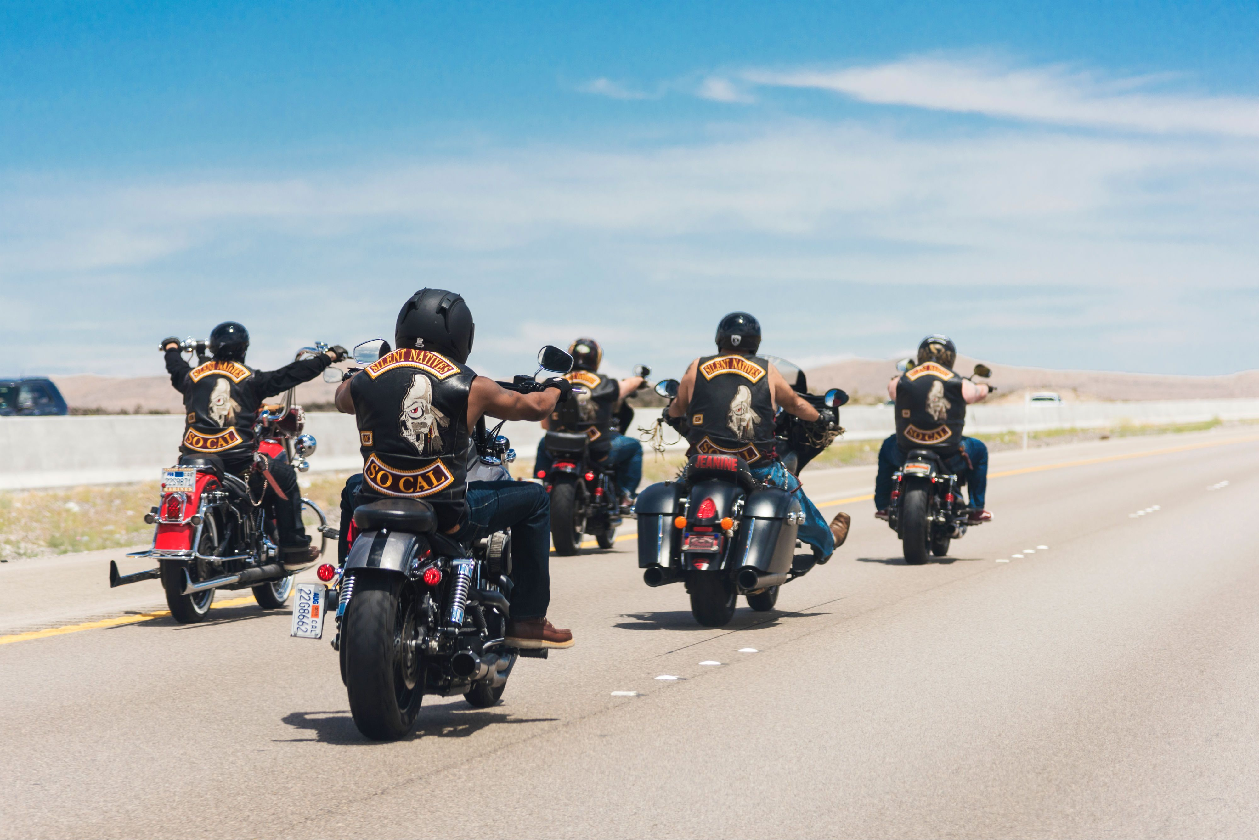 Where Are Those Motorcyclists Going?