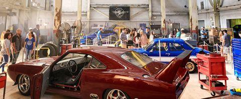 Fast & Furious ride Universal Orlando