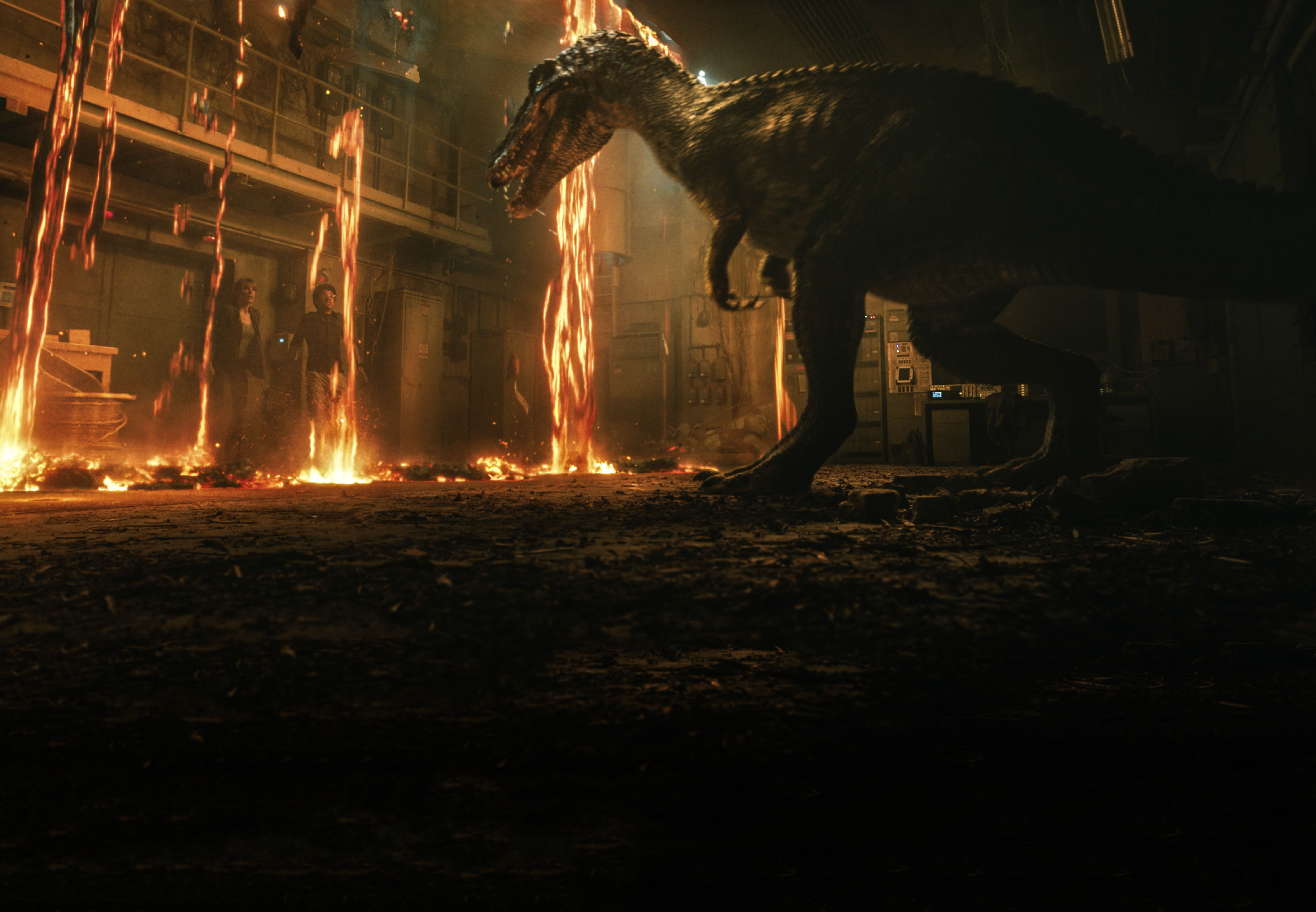 Jurassic World: Fallen Kingdom eruption