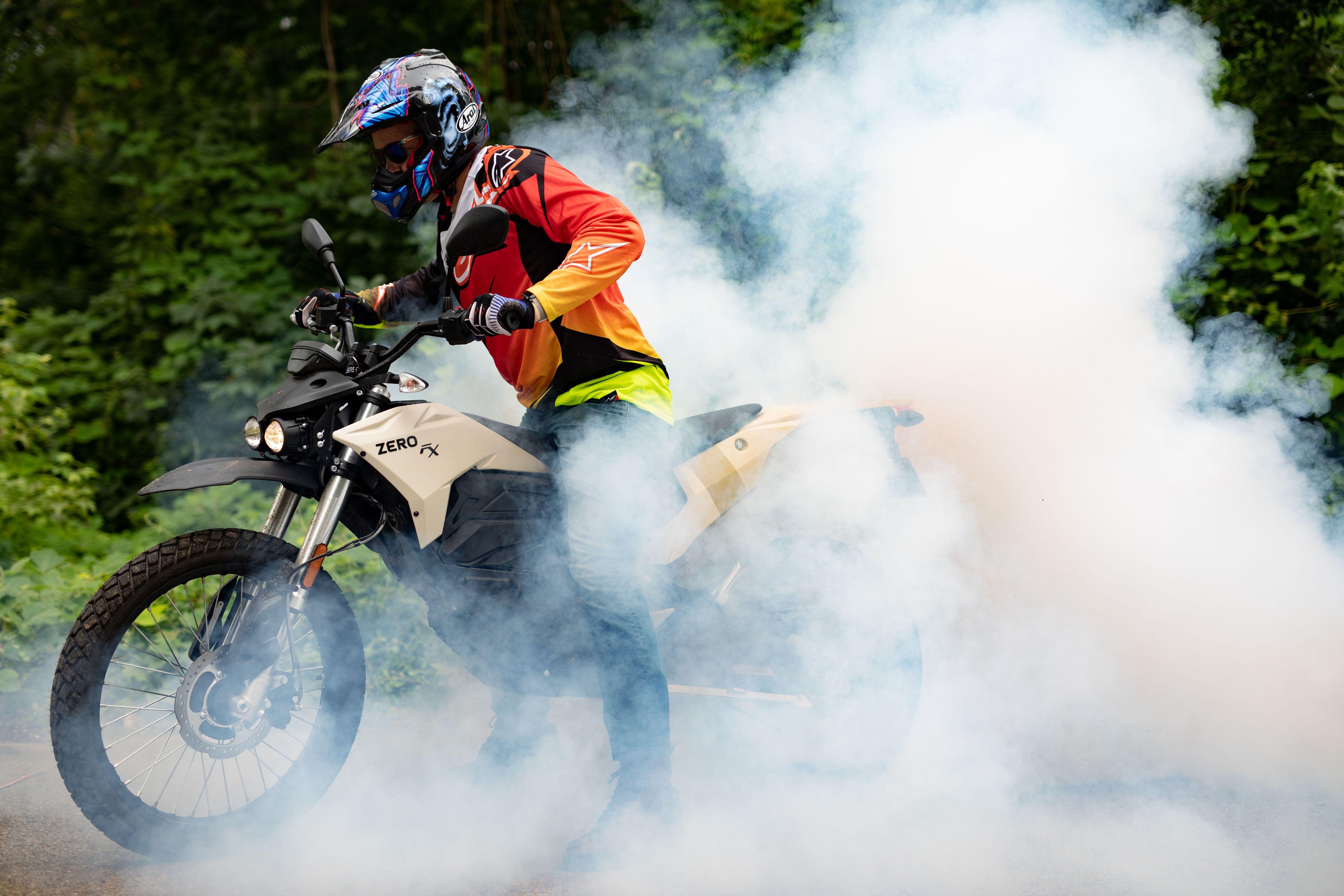 The Zero FX: The Amazing Silent Speedy Electric Dirt Bike