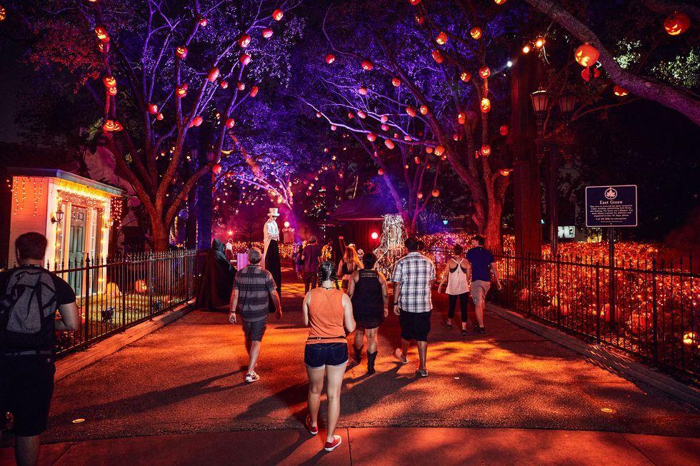 halloween horror nights at universal orlando: how it's built