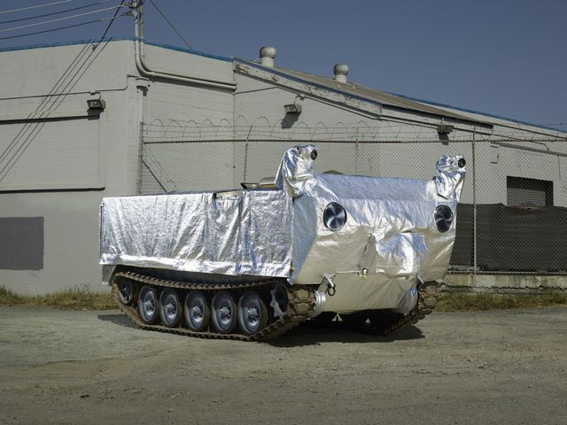 Jamie Hyneman Wildfire Tank | California Fire Firefighting on