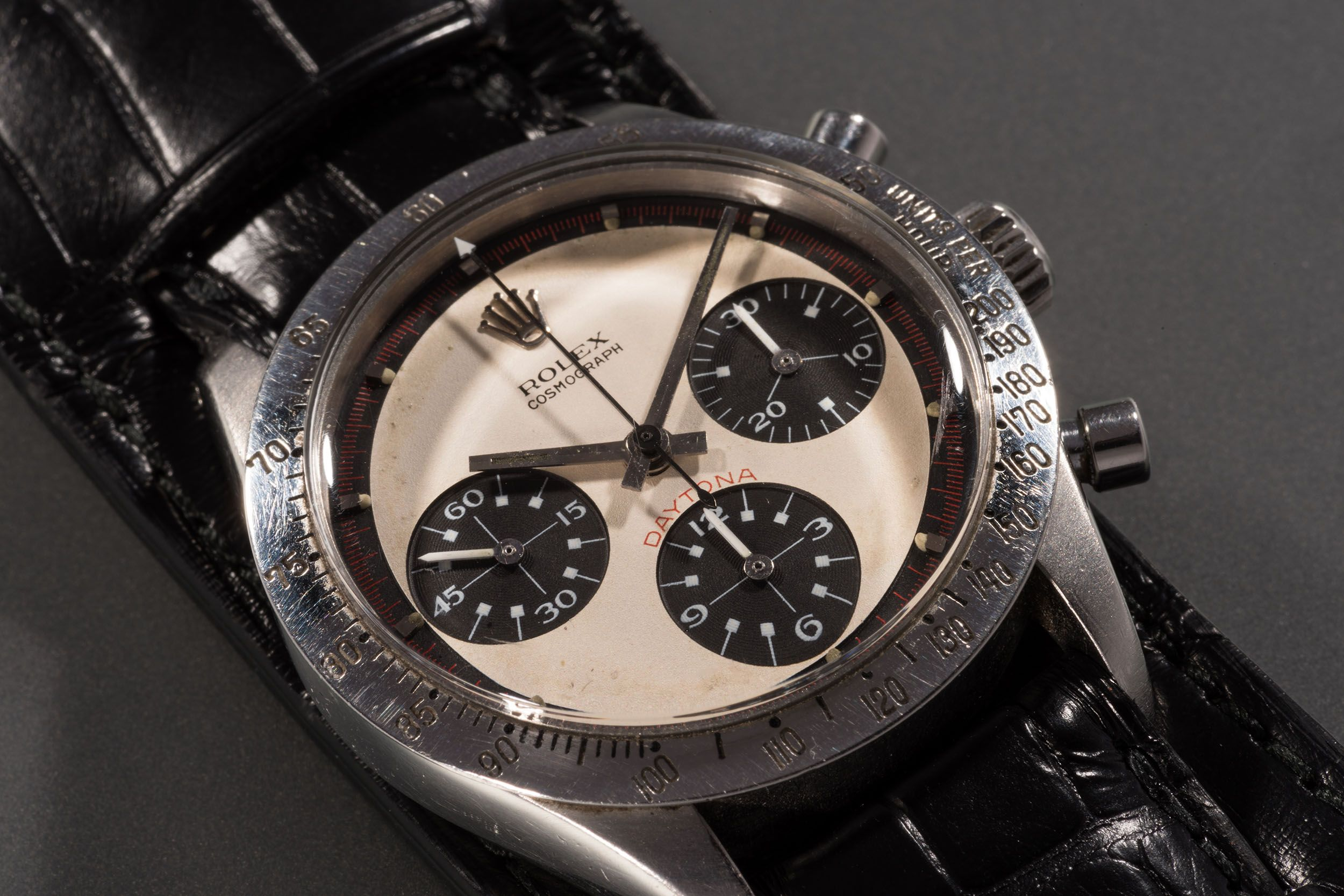 Paul Newman Rolex Daytona Is The Most Expensive Watch Ever Sold At
