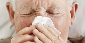 Pneumonia is an infection in one or both lungs usually caused by bacteria, viruses, or fungi