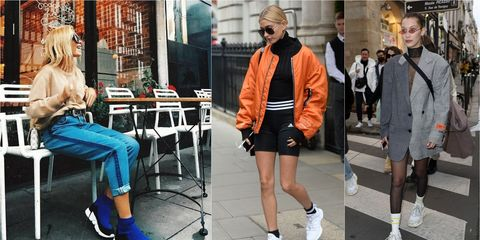 Street fashion, Fashion, Footwear, Snapshot, Shoe, Plimsoll shoe, Leg, Shorts, Sportswear, Jacket,