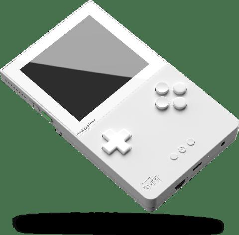 白色game boy 機器