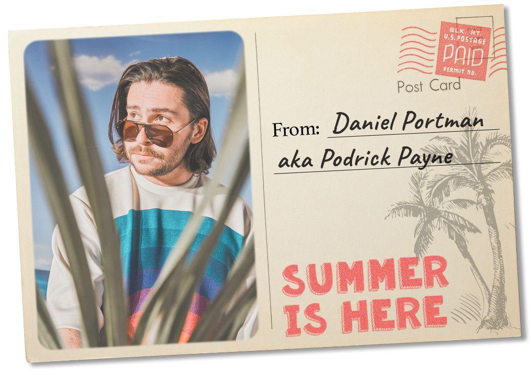 Daniel Portman, un tipo tan enérgico como nuestro querido Pod