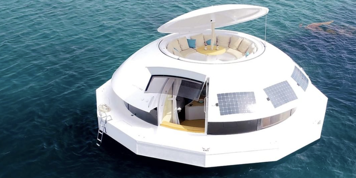 You Can Rent a Floating Party Pod That Can Sail Around the World