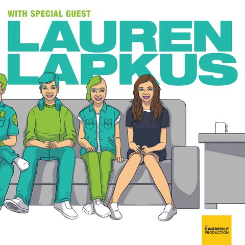 comedy podcasts - Lauren Lapkus