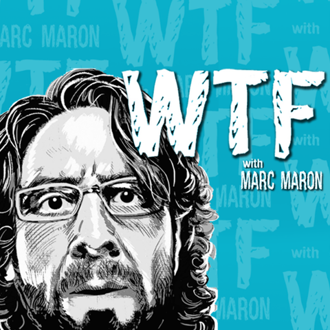 podcast logo for wtf with marc maron