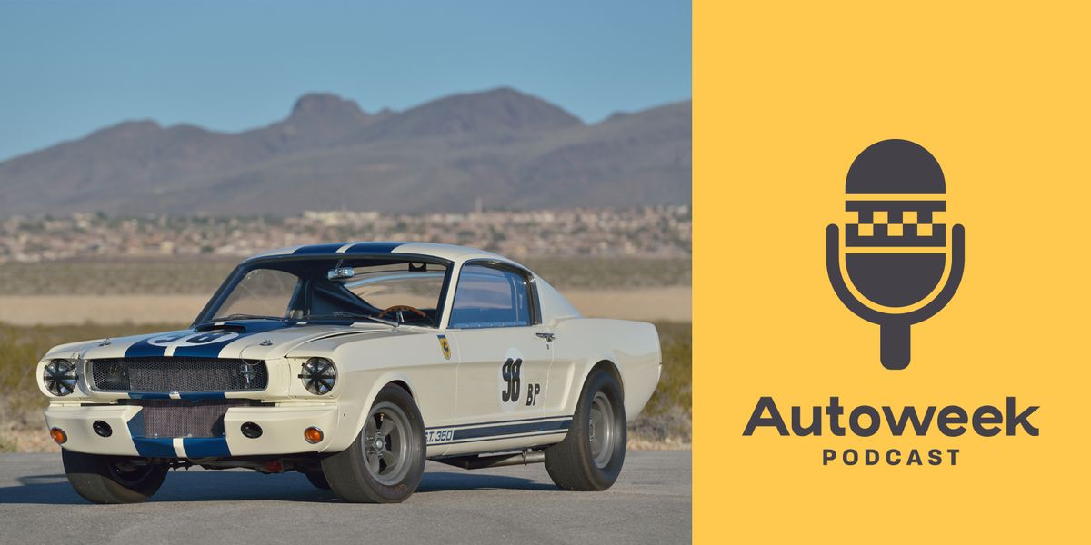 The 'Autoweek Podcast' Ep. 116: First Mustang GT350R Heads to Auction and Formula 1 Returns