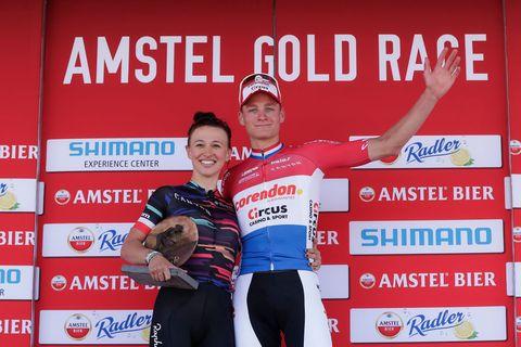 Van der Poel, Niewiadoma podium Amstel Gold Race