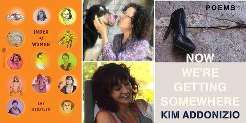 index of women, now were getting somewhere, kim addonizio, amy gerstler