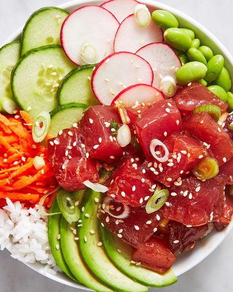 Dish, Food, Cuisine, Ingredient, Salad, Vegetable, Cucumber, Produce, Vegetarian food, Plant,