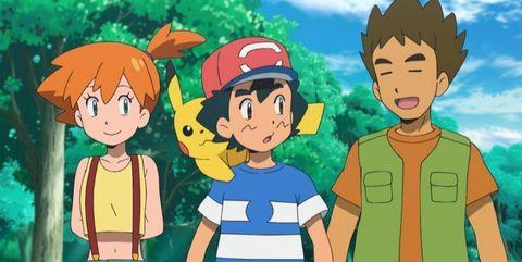 pokémon brock misty anime
