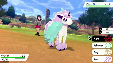 Pokemon Sword and Shield, Galarian Ponyta