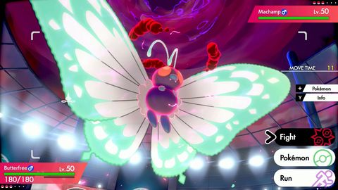 Pokemon Sword and Shield, Gigantamax Butterfree