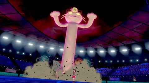Pokemon Sword and Shield, Gigantamax Meowth