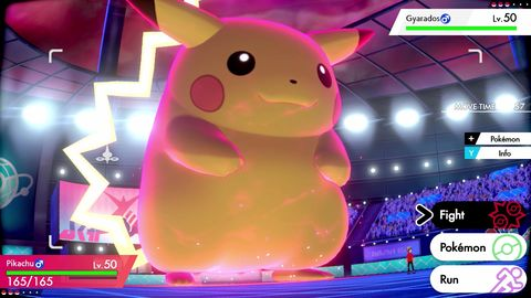Pokemon Sword and Shield, Gigantamax Pikachu