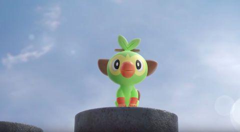 Pokemon Sword and Shield, Grookey