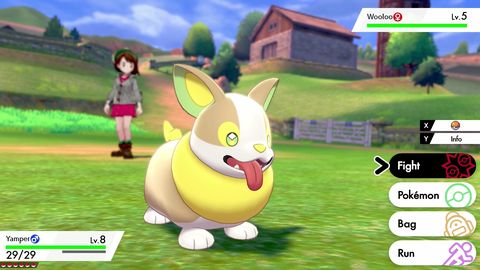 Pokemon Sword and Shield, Yamper