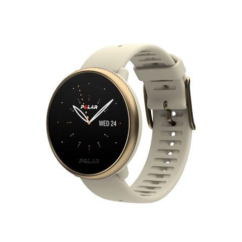 polar ignite 2 sporthorloge activitytracker sleeptracker horloge beige