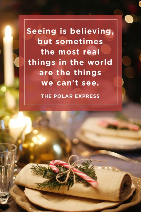 Polar Express Christmas Quotes