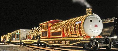 polar express train ride - Christmas Train Denton Nc