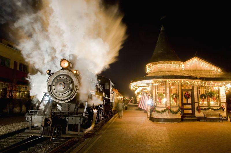 Polar Express Train Rides for Christmas