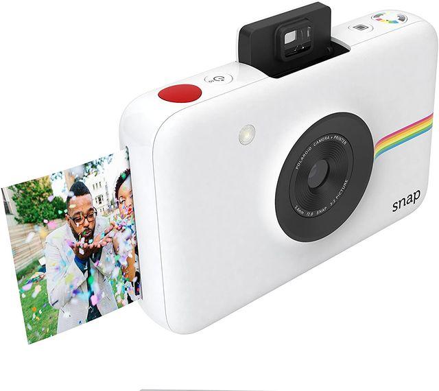 imagen de la cámara polaroid snap, en oferta en amazon durante prime day