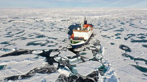 polar arctic research ship germany