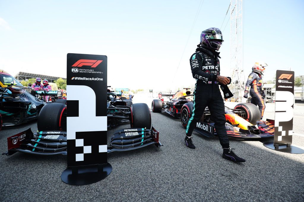 F1 Spanish Grand Prix Qualifying Results Mercedes Pair To Start Sunday S Race 1 2