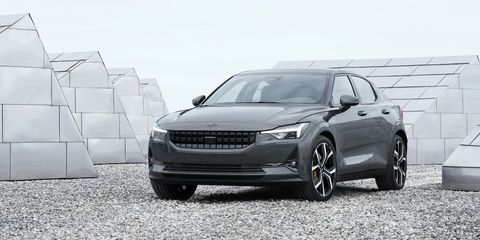 2020 Polestar 2 Is An All Electric Un Suv From Volvo S Futurist