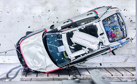 polestar 2 crash test cenital