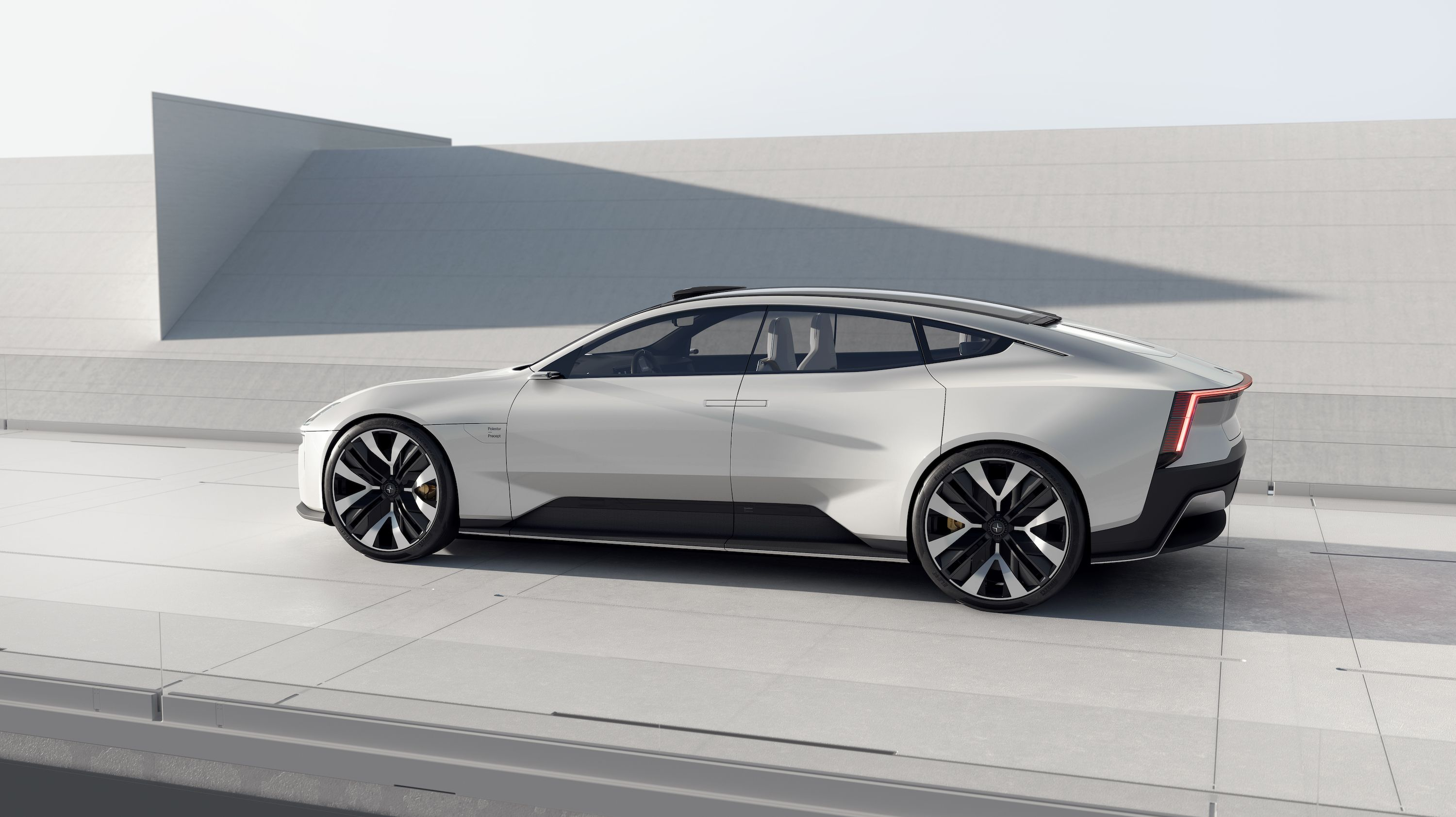 The Polestar Precept Doesn't Look Like a Volvo