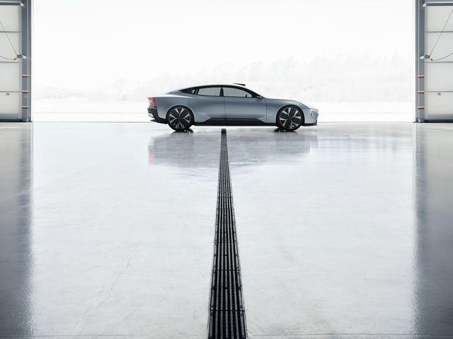 polestar precept gets a digital auto show deep dive