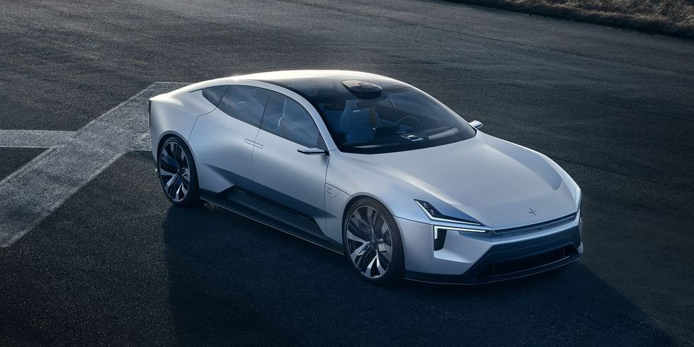 Polestar Precept Concept, a Stunning EV, Is Going into Production