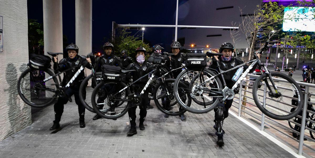 Should Bike Brands Stop Selling To Police Black Lives