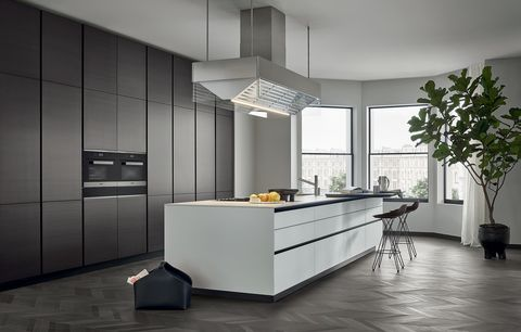 how the kitchen of the poliform house changes