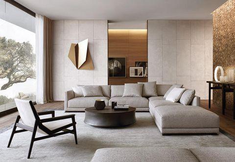 Divani Poliform.The Living Area According To Jean Marie Massaud