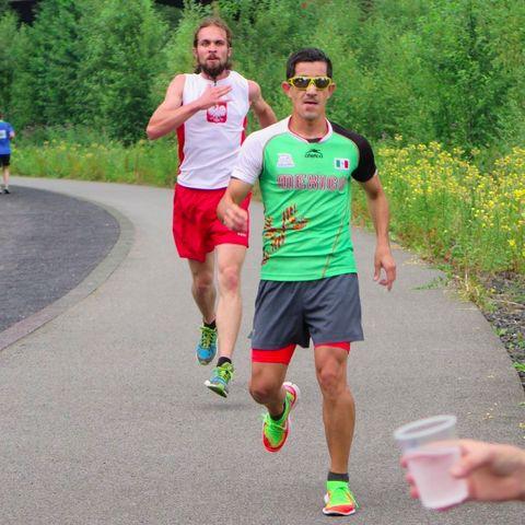 Diego Polino, retrorunning, maratón de Nueva York