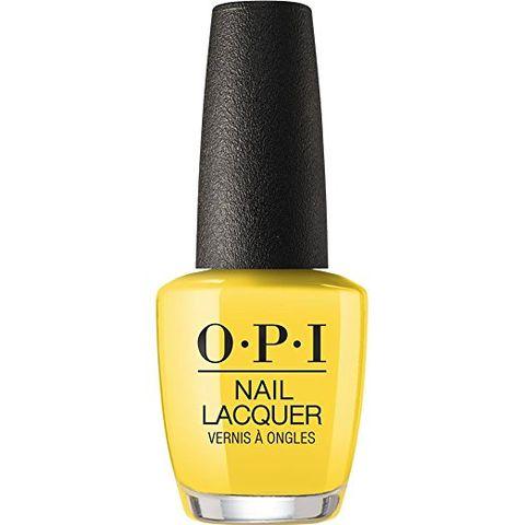 Nail polish, Cosmetics, Nail care, Yellow, Liquid, Material property, Nail,