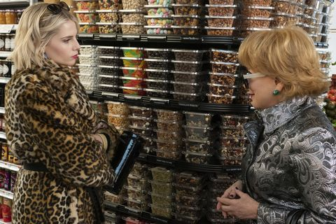 the politician l to r lucy boynton as astrid sloan and bette midler as hadassah gold in episode 1 of the politician cr giovanni rufinonetflix © 2020