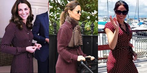 06a64f717f Pippa Middleton Wears Whistles Dress Just One Week After Kate Wore It