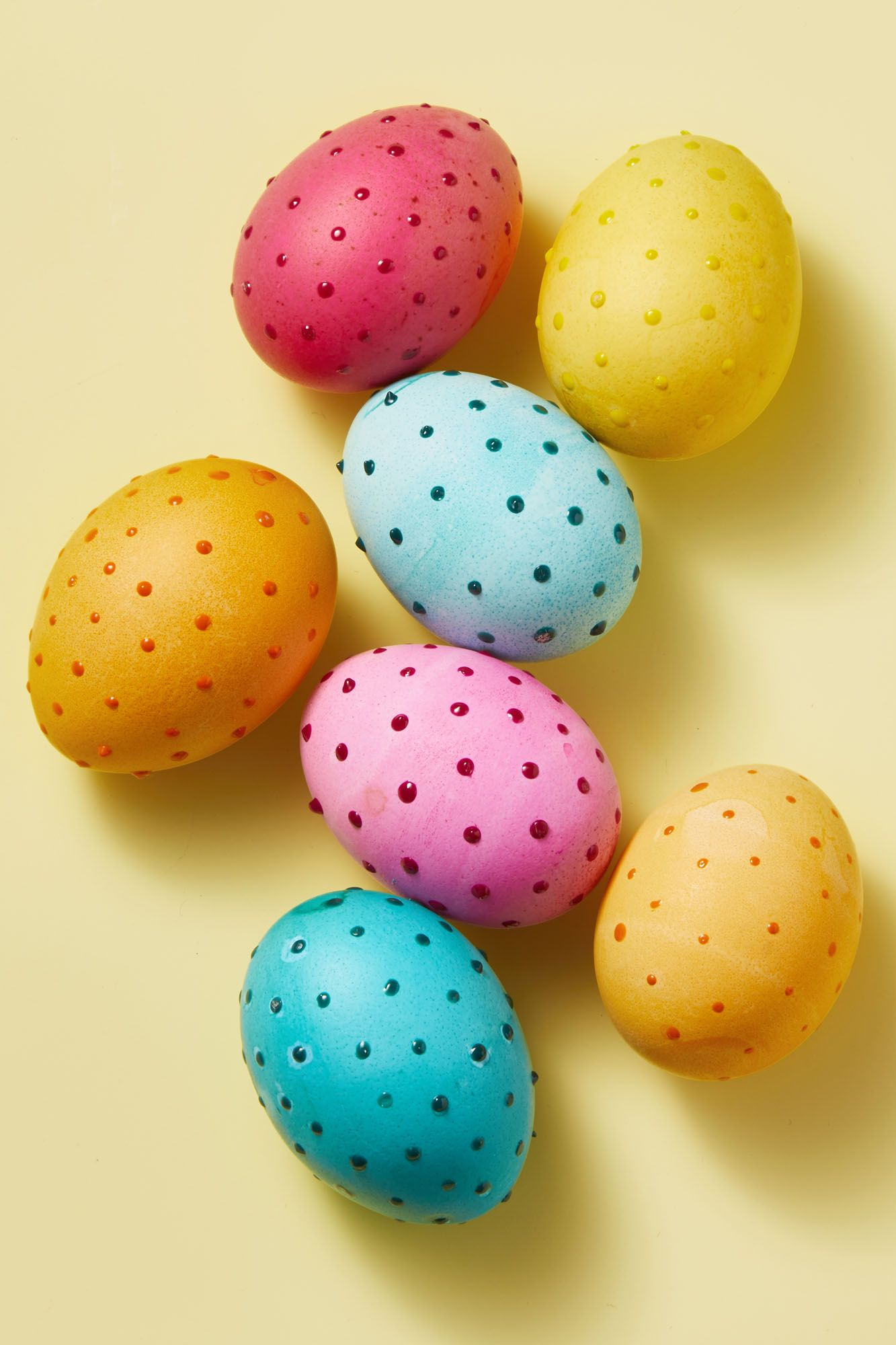 Polka-Dot Egg - Easter Egg Decorating Ideas