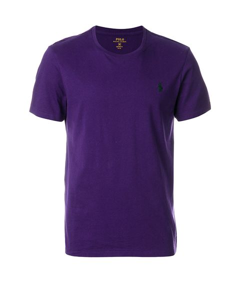 T-shirt, Clothing, Violet, Purple, Active shirt, Sleeve, Neck, Top, Magenta,